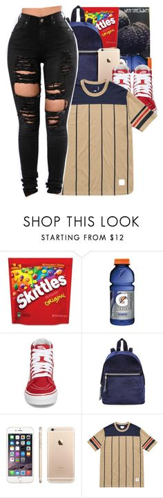 """""""Untitled #767"""" by wntrtimeshawty ❤ liked on Polyvore featuring Gatorade and Vans"""