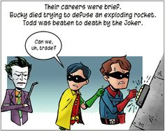 The second Robin: Jason Todd R.I.P.
