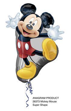 1 Gros Ballon Mylar-78 x 55 cm-Mickey™ - Table et Décoration - Ruedelafete
