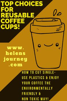 A List of Top Choices for Reusable Coffee Cups! How to enjoy your hot drinks on-the-go the environmentally friendly & non-toxic way. Natural Life, Natural Living, Simple Living, Reusable Coffee Cup, Find Us On Facebook, Carpe Diem, Biodegradable Products, Helpful Hints, Coffee Cups