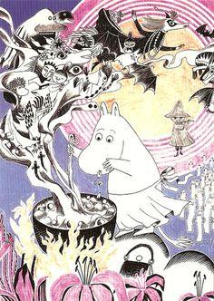 "klara-fina-gulleborg: "" Moomin by Tove Jansson "" Art And Illustration, Kawaii, Moomin Tattoo, Tove Jansson, Detective, Fairy Tales, Images, Artsy, Sketches"