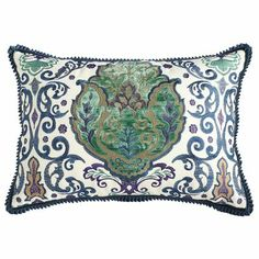 Velvet Damask Pillow  @Jessica Luni this is the one we saw in the store today