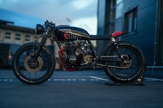"""Honda CB550 Cafe Racer """"SDNO"""" Nº27 by NCT Motorcycles - Photo Peter Pegam #motorcycles #caferacer #motos 