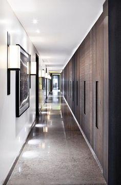 koridor dekorasyonu - koridor yer döşemesi