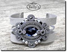 Soutache Bracelet, Soutache Jewelry, Beaded Jewelry, Shibori, Handmade Necklaces, Handmade Jewelry, Unique Jewelry, Soutache Tutorial, Polymer Clay Charms