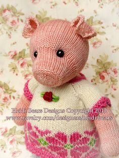 Blij dat ik brei: Pigwig the Piglet
