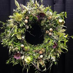 """1,760 Likes, 65 Comments - Lindsey Kitchin (@thewhitehorseflower) on Instagram: """"Easter wreath. """""""
