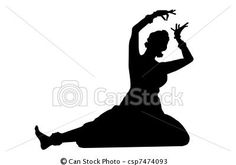 Stock Illustration - Indian dancing isolate - stock illustration, royalty free illustrations, stock clip art icon, stock clipart icons, logo, line art, pictures, graphic, graphics, drawing, drawings, artwork