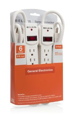 Once you buy all of your fun electronics and dorm room accessories, you might need extra places to plug in.