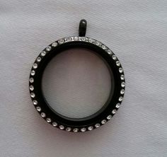 Black Floating Charms Lockets ... $28 ... email DNACustomJewelry@gmail.com