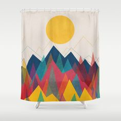 Buy Uphill Battle Shower Curtain by budikwan. Worldwide shipping available at Society6.com. Just one of millions of high quality products available.