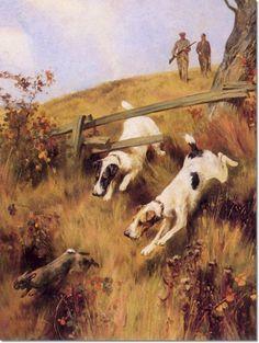 Wardle, Arthur  - Arthur Wardle - Nearly There! Fox Terriers