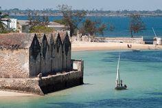 mozambique island.