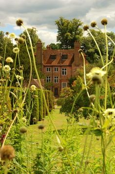 Groombridge Place, Kent, England, an English moated house which dates from the 13th century