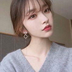 -ˏˋ 💋 ˊˎ- ➷ulzzang ღ girls➶ Pelo Ulzzang, Mode Ulzzang, Ulzzang Korean Girl, Pretty Korean Girls, Cute Korean Girl, Korean Beauty, Asian Beauty, Korean Bangs, Cute Korean Fashion