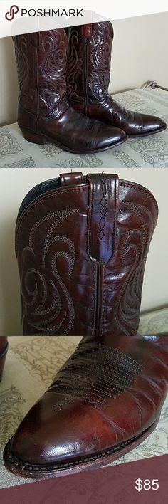 Laredo Cowboy boots Men's size 10 Brownish red Laredo Cowboy boots MEN'S size 10 Laredo Shoes Boots