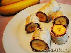 «Хот дог» с бананом