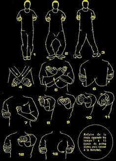 Wing chun all 3 form in drawings: