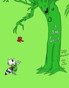 The Giving Grout. Based off of the giving tree.