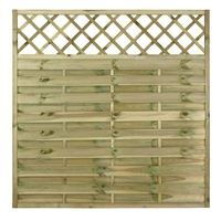 Create a stylish garden fence with our decorative fence panels. Free delivery on decorative fencing orders over For fencing supplies, visit Fencestore. Trellis Fence Panels, Decorative Fence Panels, Decorative Garden Fencing, Garden Fence Panels, Garden Fences, Wooden Double Doors, Contemporary Garden Design, Timber Fencing, Fence Landscaping
