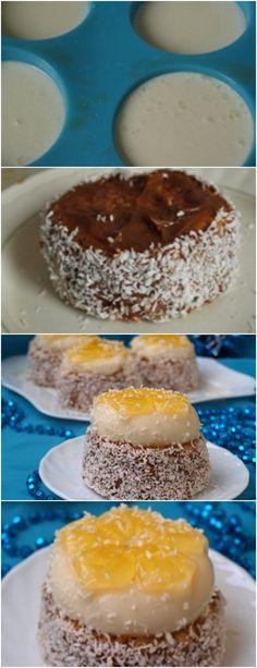 Eu cozinhei estes bolos simples e saborosos mais de uma vez.Você pode fazê-los de forma simples, mas usando gelatina colorida você pode fazer bolos diferentes, vai parecer muito impressionante.A melhor maneira de fazer geléia é à noite e de manhã para coletar bolos.#receita#bolo#torta#doce#sobremesa#aniversario#pudim#mousse#pave#Cheesecake#chocolate#confeitaria# Doughnut, Cupcake, Good Food, Pudding, Chocolate, Desserts, Recipes, Backen, How To Make Cake