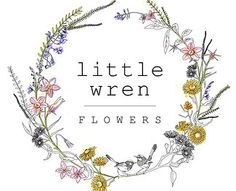 little wren flowers logo - Google Search