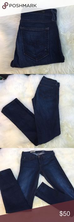 """AG The Prima Mid Rise Ciggarette Pre loved, gently used. Inseam: 29""""long AG Adriano Goldschmied Jeans Skinny"""