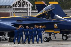 FLIGHT LINE: Blue Angels US Navy F/A-18 Demo Team pilots | Flickr - Photo Sharing!