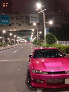 Nissan Silvia, Tuner Cars, Jdm Cars, Slammed Cars, Cars Auto, Street Racing Cars, Auto Racing, Nissan 240sx, Pretty Cars