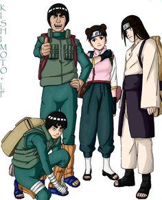 Tags: NARUTO, Rock Lee, Kishimoto Masashi, Hyuuga Neji, Tenten, Might Guy, Team 9