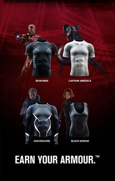 Marvel's Avengers: Age of Ultron | Under Armour Alter Ego Gear | US