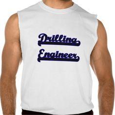 Drilling Engineer Classic Job Design Sleeveless T-shirt Tank Tops