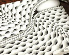 Zentangle by Certified Zentangle Teacher Ela Rieger in Germany