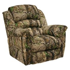 Have to have it. Catnapper High Roller AP Green Realtree Camouflage Chaise Rocker Recliner - AP Green $719