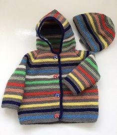 Tommy Garter Stitch Hoody Knitting pattern by Daisy – baby sweaters Baby Knitting Patterns, Baby Boy Knitting, Christmas Knitting Patterns, Knitting For Kids, Baby Patterns, Knitting Projects, Crochet Patterns, Crochet Ideas, Baby Boy Sweater