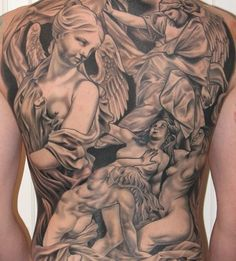 Angel Tattoos - Tattoos.net