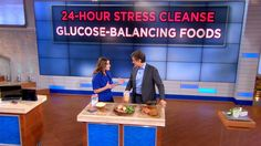 My segment on Dr Oz about reducing stress with glucose balancing foods! #DrOz #NutritionExpert