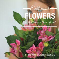 #thearlegirlpearls: edit your flowers