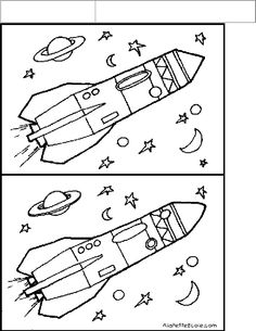 cahier autonomie GS Space Activities For Kids, Science For Kids, Book Activities, Preschool Activities, Space Projects, Space Crafts, Space Coloring Pages, Hidden Pictures, Space Theme