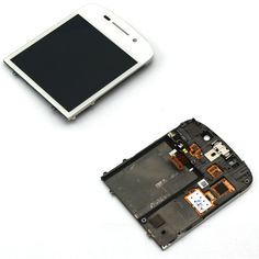 #BlackBerryQ10 Full Front Assembly White just in $26.95