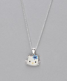 Take a look at this Sterling Silver September Birthstone Pendant Necklace on zulily today!