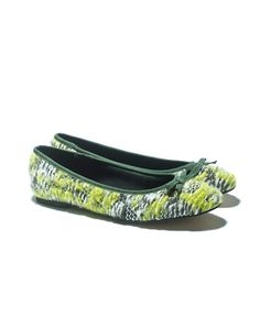BALLET FLATS from benetton. I already have them in purple, comfy and unusual. Now I want more!