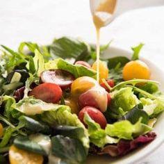 Honey Mustard Dressing by RecipeTin Eats Easy Dressing Recipe, Salad Dressing Recipes, Salad Recipes, Salad Dressings, Chicken Salad Dressing, Fancy Salads, Leafy Salad, Honey Mustard Dressing, Vinegar Dressing
