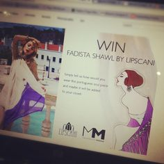 WIN an amazing shawl by Lipscani. Enter here.