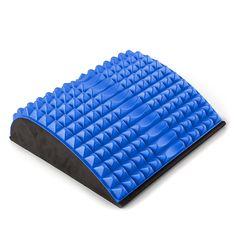 Professional Ab & Back Stretcher - Marke proroll - aus formstabilem soften EVA-Kunststoff. In den Farben blau, rot und schwarz hier erhältlich: http://www.megafitness-shop.info/Gymnastik/Faszien/Professional-Ab-Back-Stretcher-proroll--3976.html