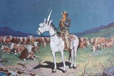Unicorn Country Print