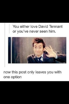 David tennent ~ doctor who