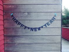 DIY word banner, buy at nordliebe.com #happynewyear #diy #wordbanner