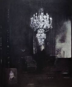 "Saatchi Art Artist Jens Kunik; Painting, ""The Visitor"" #art"