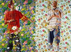 Painting the Streets: Style in the artwork of Kehinde Wiley and ...